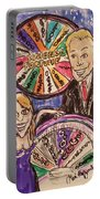 Wheel Of Fortune Pat Sajak And Vanna White Portable Battery Charger