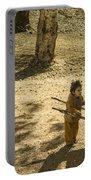 Wheelbarrow Girl  Portable Battery Charger