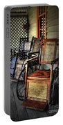 Wheelchairs Of Yesteryear By Kaye Menner Portable Battery Charger
