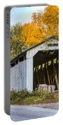 Wheeling Covered Bridge Portable Battery Charger