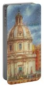 When In Rome 25 - Piazza Venezia 1 Portable Battery Charger