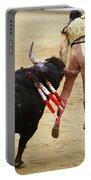 When The Bull Gores The Matador I Portable Battery Charger