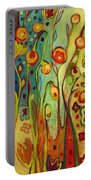 Where Does Your Garden Grow Portable Battery Charger by Jennifer Lommers