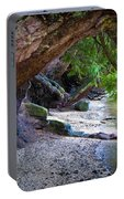 Where The Forest Meets The Sea Portable Battery Charger