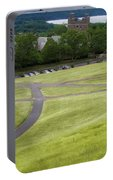 Where The Paths Cross Cornell University Ithaca New York Portable Battery Charger