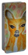 Whimsical Autumn Doe Portable Battery Charger