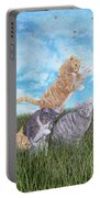 Whimsical Cats Portable Battery Charger