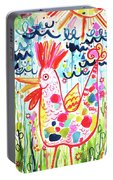 Whimsical Chicken Portable Battery Charger