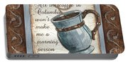 Whimsical Coffee 1 Portable Battery Charger