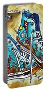 Whimsical Shoes By Madart Portable Battery Charger