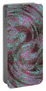 Whirl Wind Of Butterflies And Birds Portable Battery Charger
