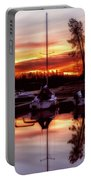 Whiskey At Sunrise Portable Battery Charger
