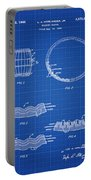 Whiskey Barrel Patent 1968 In Blue Print Portable Battery Charger