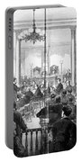 Whiskey Ring Trial, 1876 Portable Battery Charger