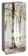 Whispering Woodland In Autumn Fall Portable Battery Charger