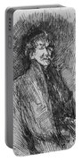 Whistler, Self-portrait.  Portable Battery Charger