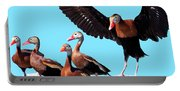 Whistling Ducks Portable Battery Charger