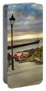Whitby Sun Set Portable Battery Charger