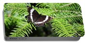 White Admiral On Tree Portable Battery Charger