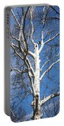 White Bark Portable Battery Charger
