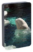 White Beluga Whale 3 Portable Battery Charger