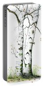 White Birch Portable Battery Charger