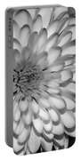 White Bloom Portable Battery Charger