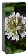White Clover Portable Battery Charger