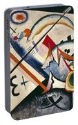 White Cross By Vassily Kandinsky Portable Battery Charger