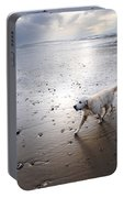 White Dog Portable Battery Charger