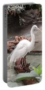 White Heron Portable Battery Charger