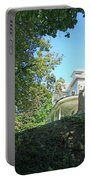 White House With Hillside Shade Portable Battery Charger