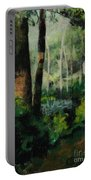 White Mountain Woods Portable Battery Charger