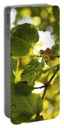 White Mulberries Portable Battery Charger