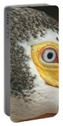 White Pelican Eye Portable Battery Charger