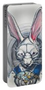 White Rabbit  Portable Battery Charger