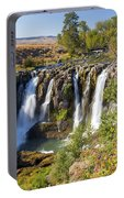 White River Falls In Tygh Valley Portable Battery Charger