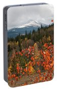 White River National Forest Autumn Panorama Portable Battery Charger