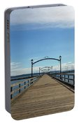 White Rock Pier Moorage In Bc Canada Portable Battery Charger