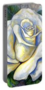 White Rose Two Portable Battery Charger