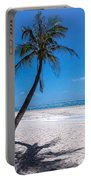 White Sand Beaches And Tropical Blue Skies Portable Battery Charger