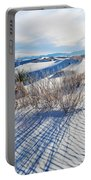 White Sands Shadows Portable Battery Charger