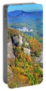 White Side Mountain Fool's Rock In Autumn Vertical Portable Battery Charger