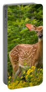 White-tail Fawn Portable Battery Charger