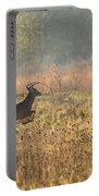 White Tail Morning Portable Battery Charger