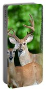 White-tailed Deer Family Portable Battery Charger
