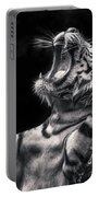White Tiger Featured In Greece Exhibition Portable Battery Charger