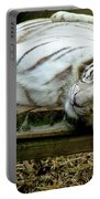 White Tiger Portable Battery Charger