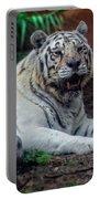 White Tiger Gladys Porter Zoo Texas Portable Battery Charger