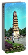White Tower Portable Battery Charger
